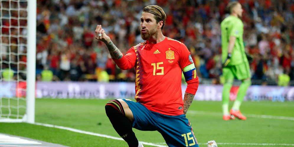 Ajang Terakhir Sergio Ramos Di Euro 2020